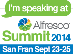Alfresco Summit San Francisco 2014